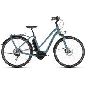 Cube Town Sport Hybrid Pro 400 - Vélo de ville électrique - Trapez bleu/Bleu pétrole
